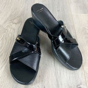 Cole Haan Margate Leather & Slide Strap Sandals 10